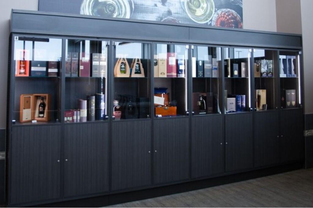 05. Liquor Store Cabinets