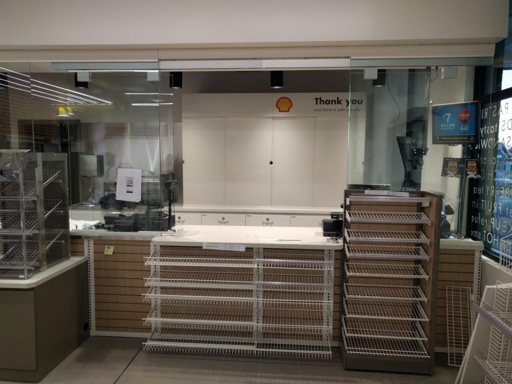 07. Cash Desk with Security Enclosures