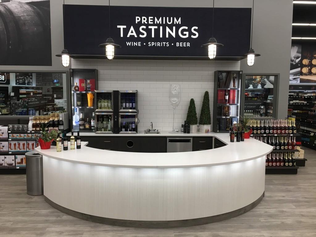 07. Liquor Store Tasting Bar
