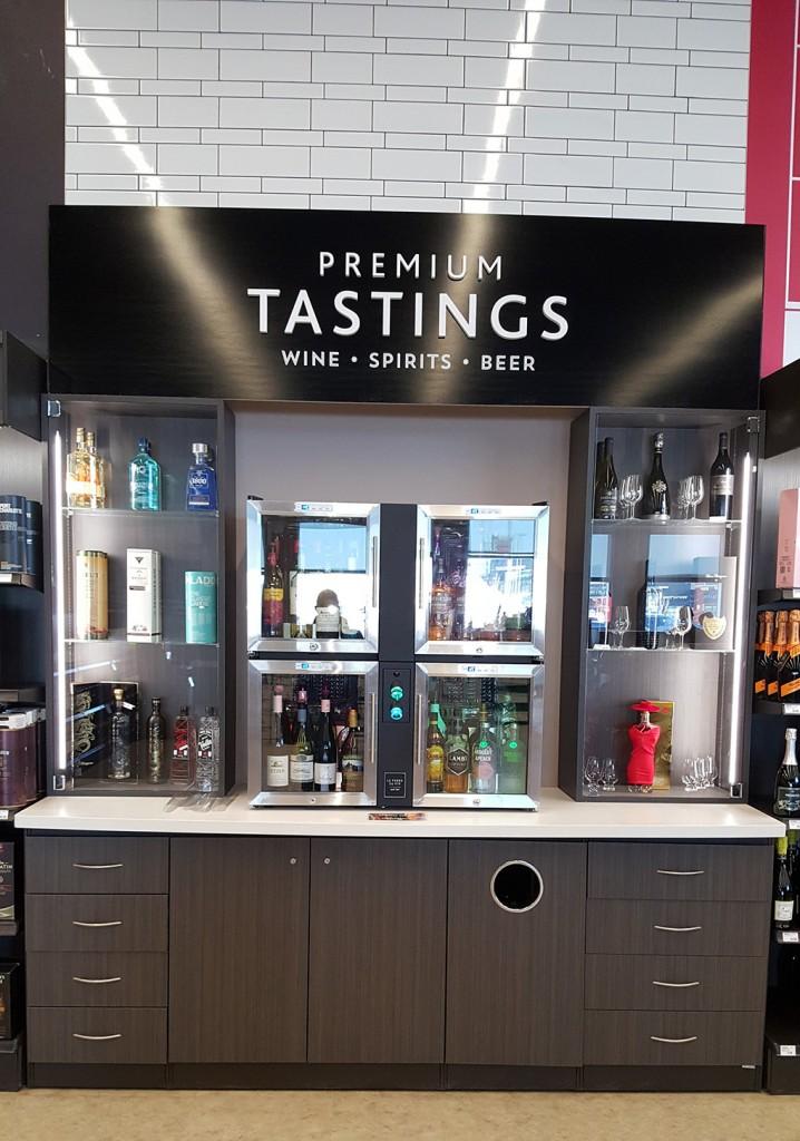 08. Liquor Store Cabinets