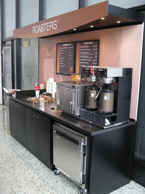 12. Food Service Kiosk
