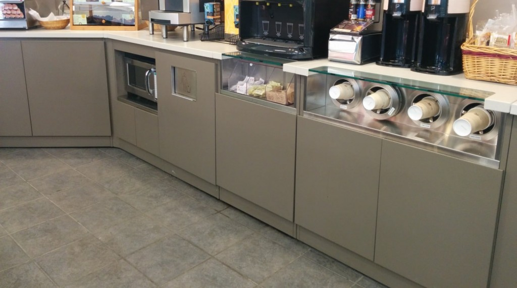 13. Convenience Store Coffee Service Counter