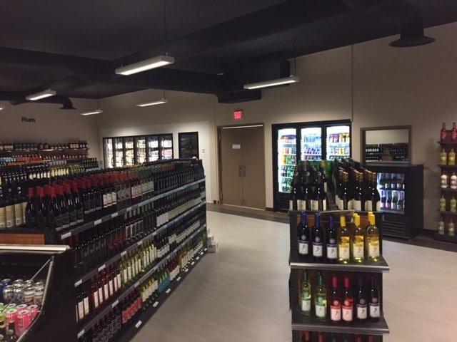 13. Small Format Liquor Store Gondola