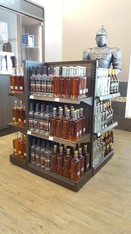 15. Small Format Liquor Store Square Gondola
