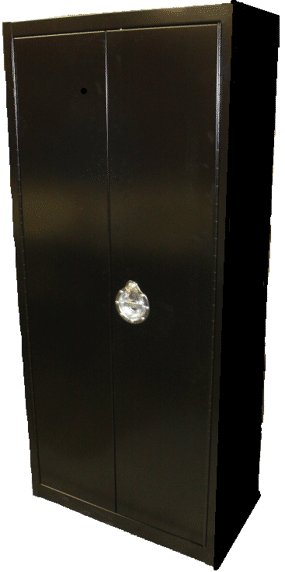 17. MM-670 - Secure Tobacco Cabinet for Back for Backroom Storage