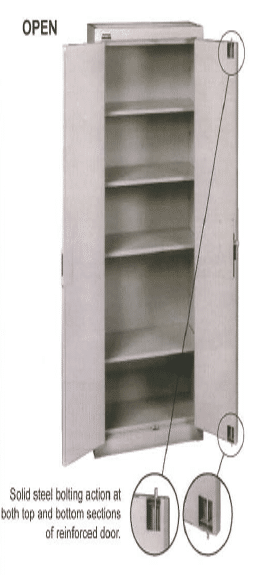 18. MM-670 - Secure Tobacco Cabinet for Back for Backroom Storage (2)