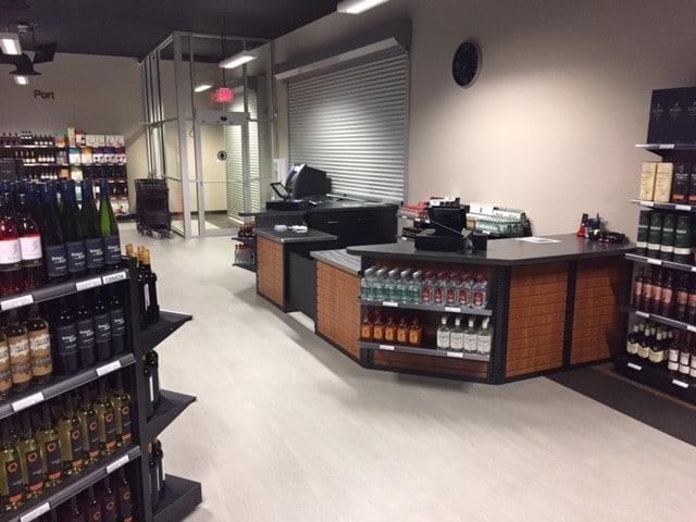 20. Liquor Store Cash Desk