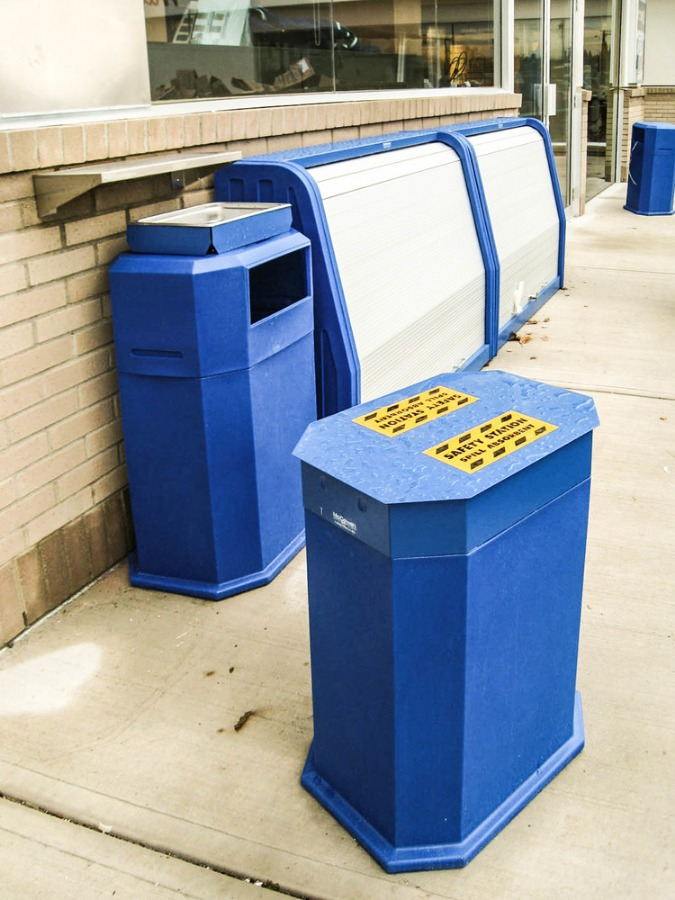 24. Utility Units and Merchandisers in Husky Blue