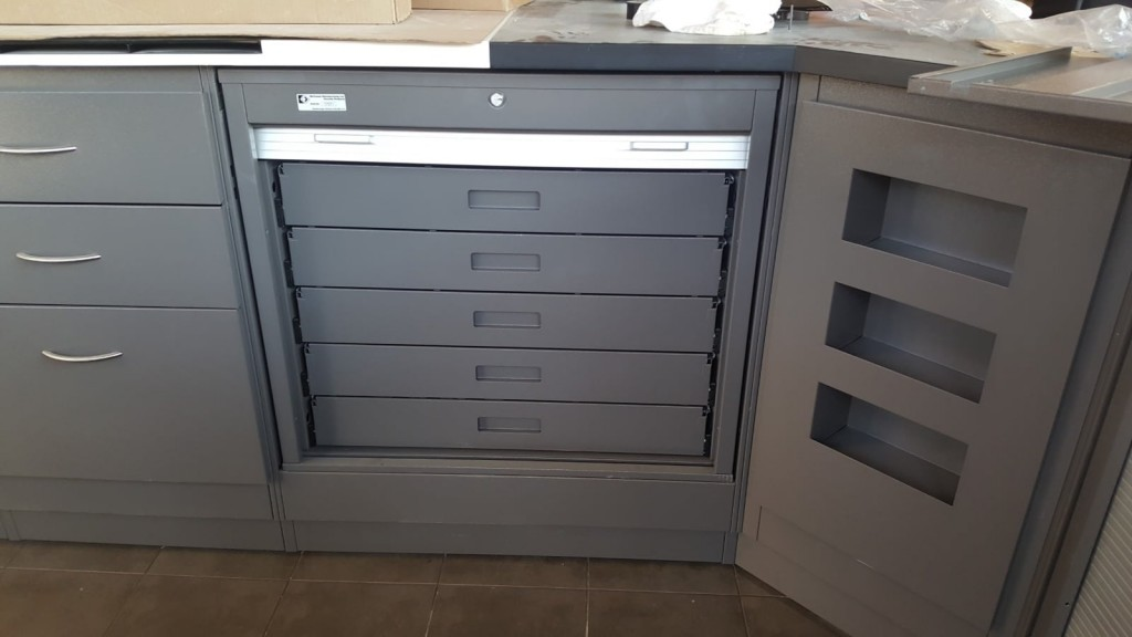 3. MM-3030-36 Secure Undercounter Tobacco Cabinet - Door Open
