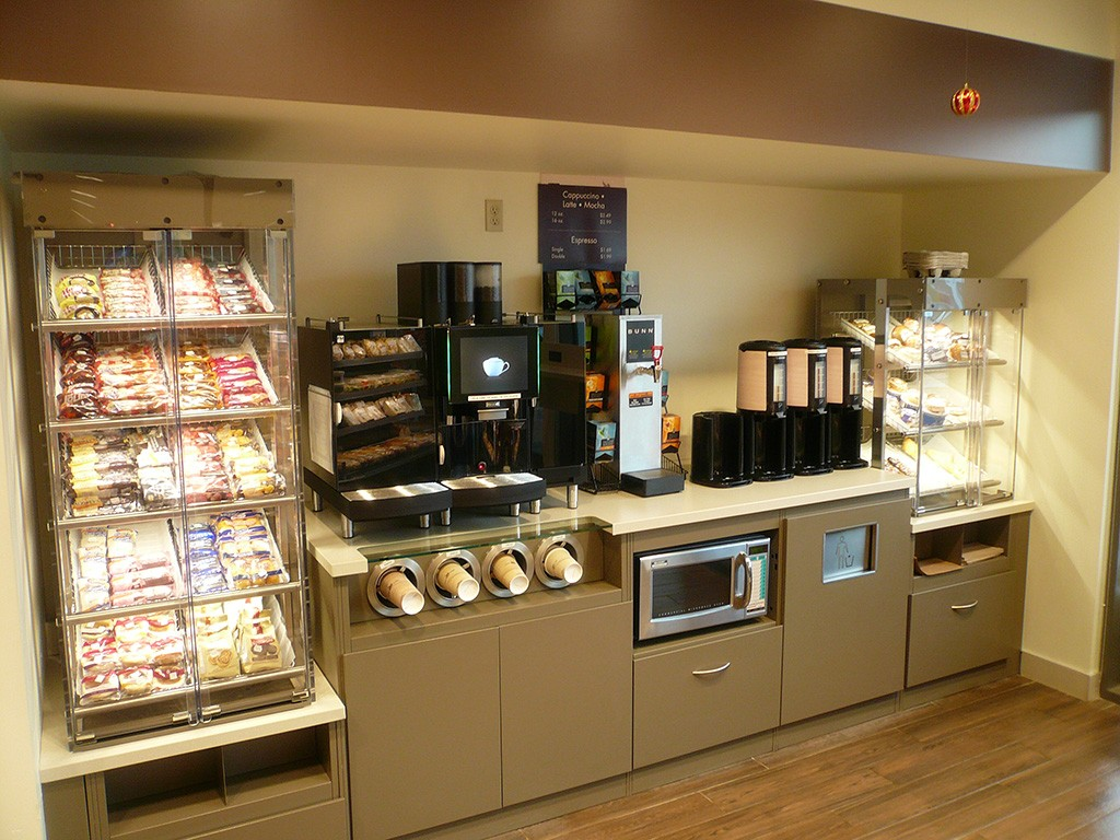 31. Food Service Counter