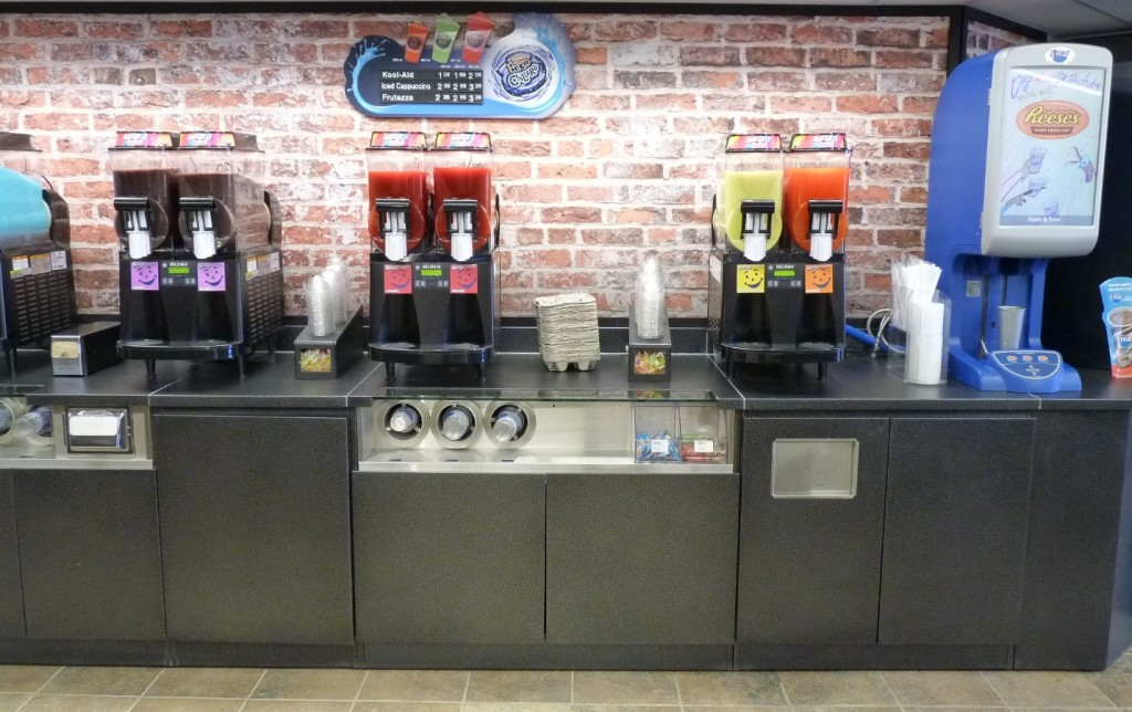 5. Convenience Store Beverage Service Counter