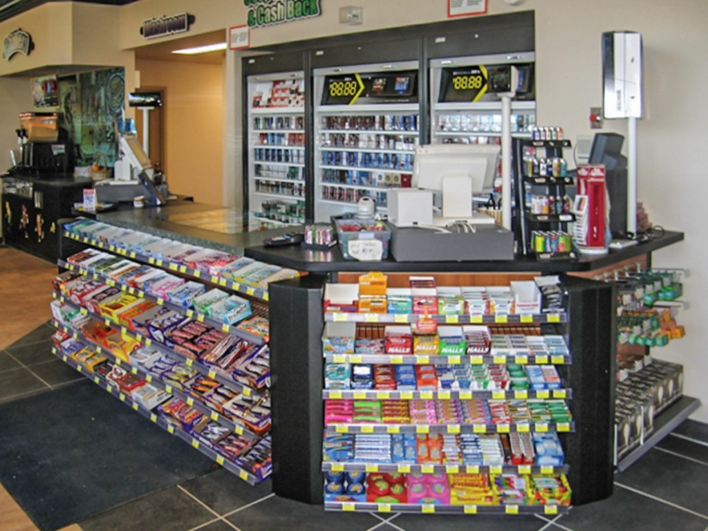 Incredible Convenience Gas Bar Fixtures Mccowan Store Fixtures Home Interior And Landscaping Ologienasavecom