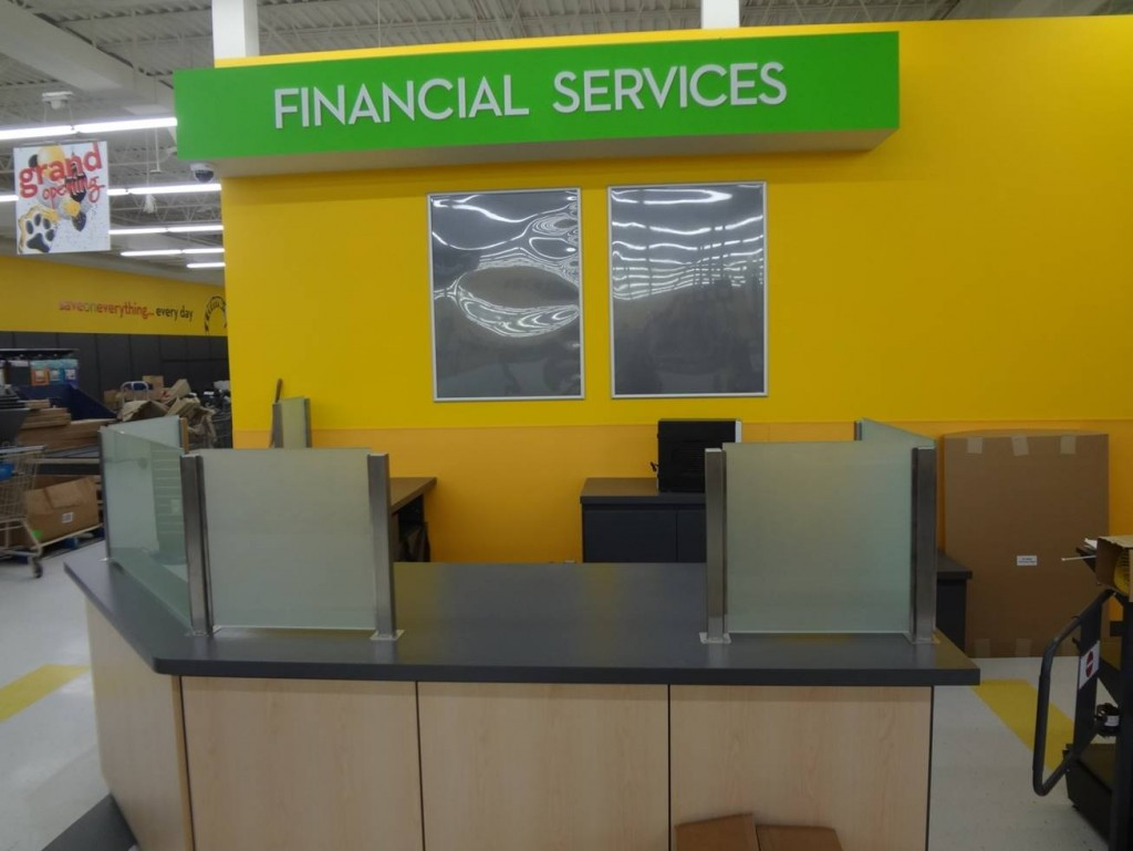 Financial Services Counter