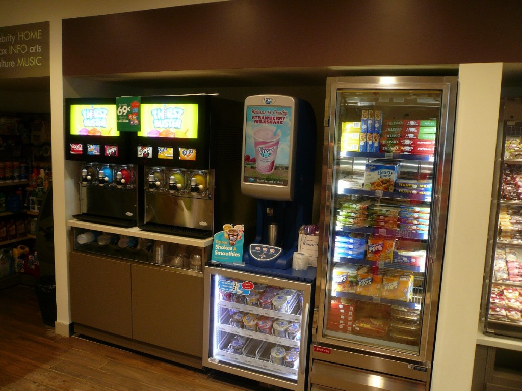 Frozen Concentracted Beverage Counter