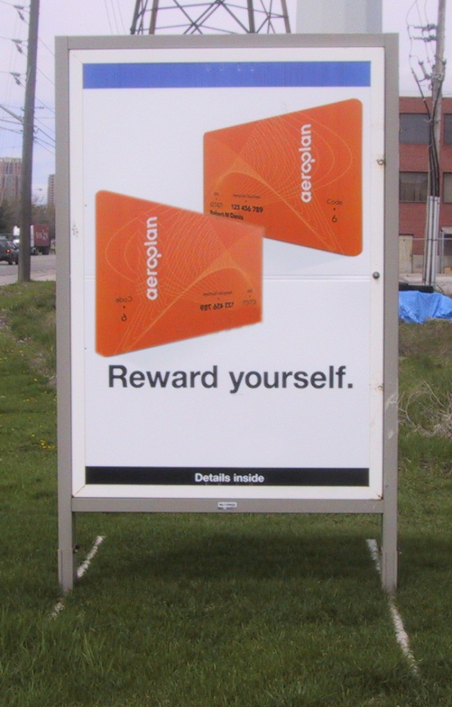 Large Promotional Sign