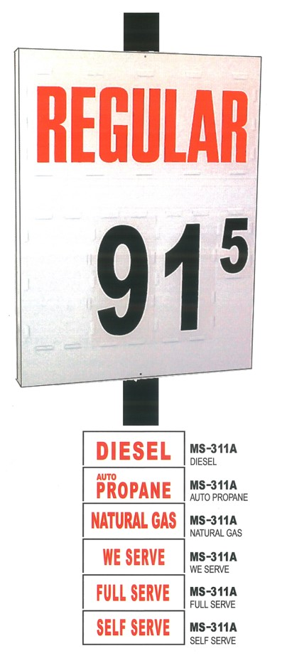 MS-311 Pole Sign