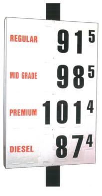 MS-314 Pole Sign