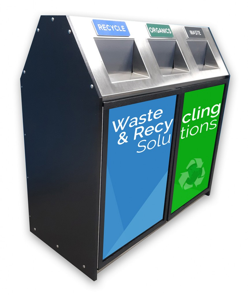 MU-803 Multistream Waste Recycle Station