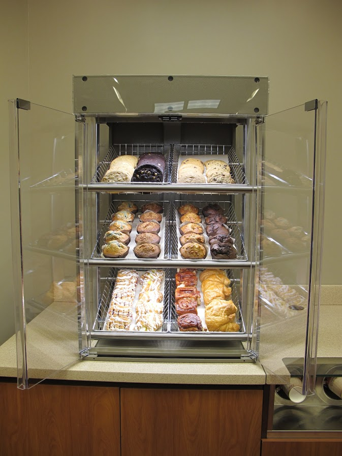 Pastry Display with LED lighting