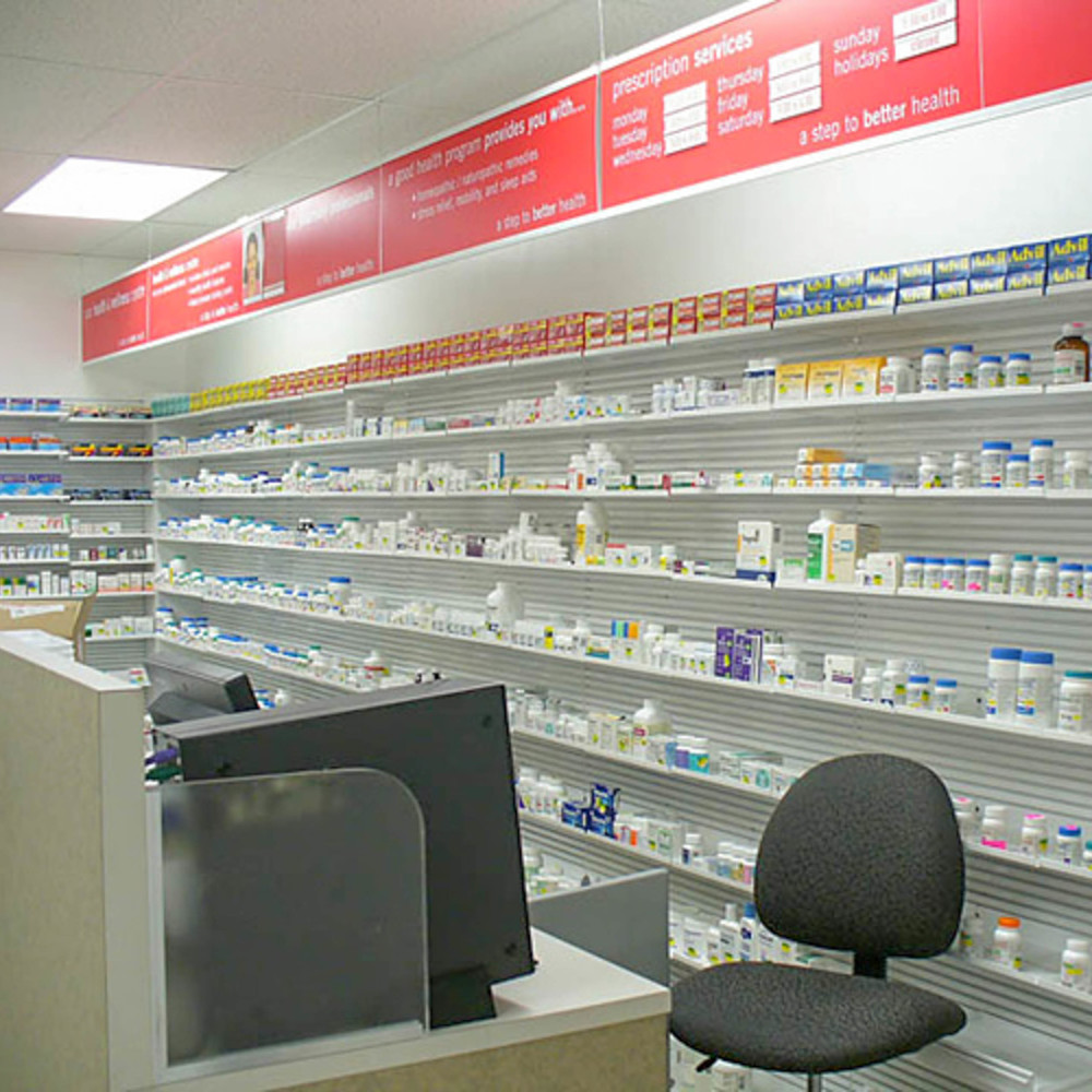 Pharmacy Shelving 1