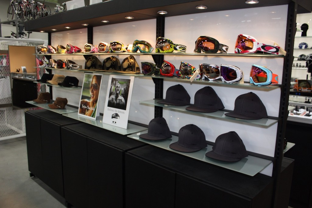 Sporting Goods Accessory Display